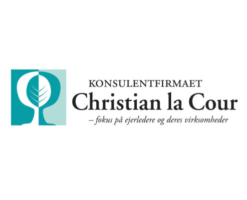 Logodesign til Christian La Cour ved Courage Design