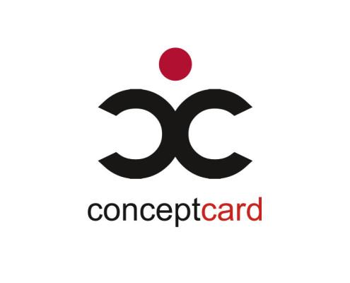 Logodesign til Conceptcard ved Courage Design