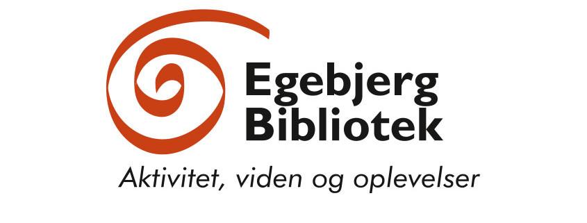Logodesign til Egebjerg Bibliotek ved Courage Design
