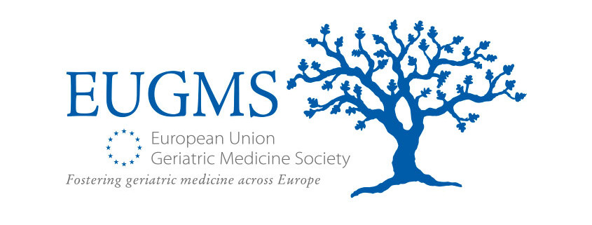 Logodesign til European Union Geriatric Medecine Society ved Courage Design