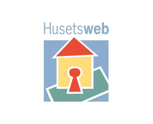 Logodesign til Husetsweb ved Courage Design