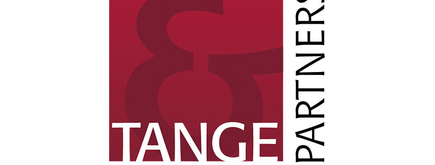 Logodesign ti Tange og Partners ved Courage Design