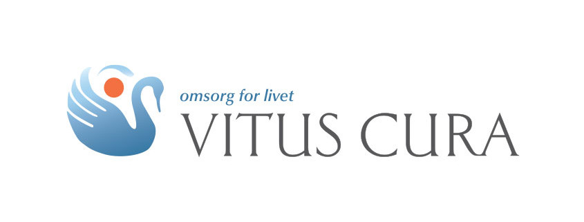 Logodesign til Vitus Cura ved Courage Design
