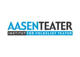 Logodesign til Aasen Teater ved Courage Design
