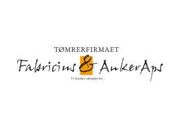 Logodesign til Fabricius og Anker Aps ved Courage Design