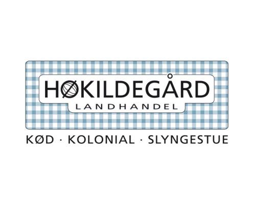 Logodesign til Høkildegård ved Courage Design