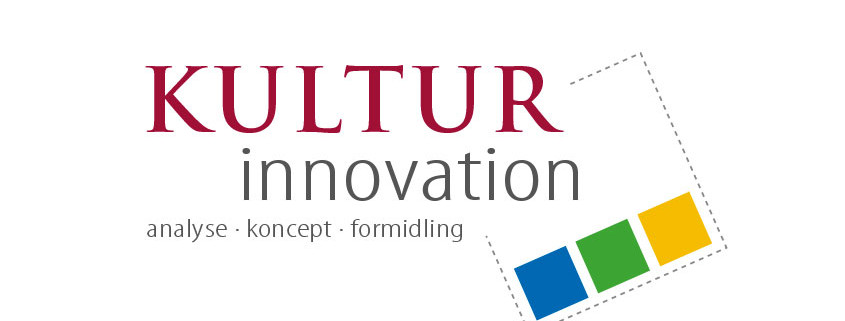 Logodesign Kultur Innovation ved Courage Design