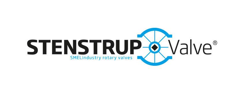 Logodesign til Stenstrup Valves, som er en del af SMEL Industry Aps ved Courage Design