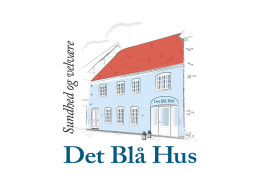 Logodesign til Det Blå Hus ved Courage Design