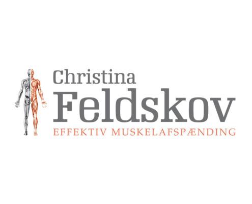 Logodesign til Christina Feldskov ved Courage Design