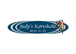 Logodesign til Judys Køreskole ved Courage Design