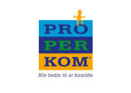 Logodesign til Properkom ved Courage Design