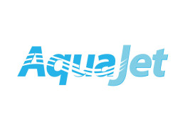 Logodesign til Aqujet ved Courage Design