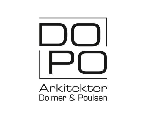 Logodesign til Dopo Arkitekter ved Courage Design