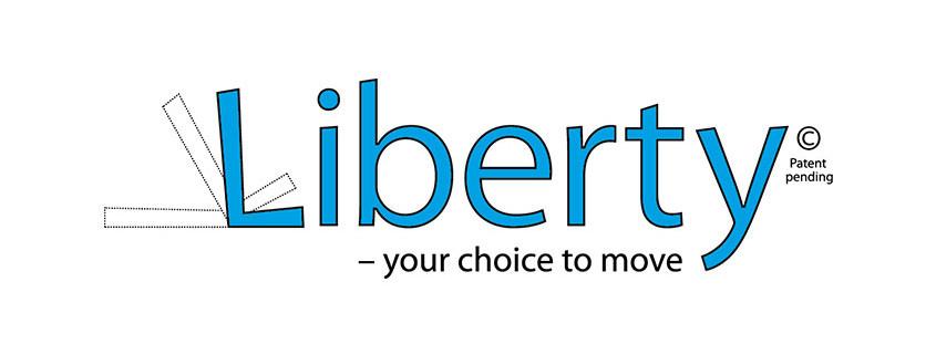 Logodesign til fremstillingsvirksomheden Liberty Care Company ved Courage Design
