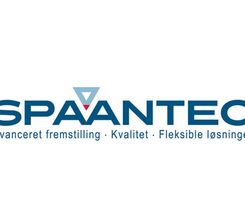Redesign af Spaantec logo ved Courage Design